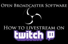 Tutorial: How to stream on twitch in FullScreen single