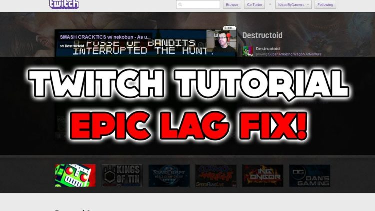Twitch BEST Lag Fix Tutorial: Livestreamer & VLC – Twitch
