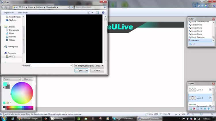 Tutorial- How to make a Twitch Overlay in Paint net – Twitch