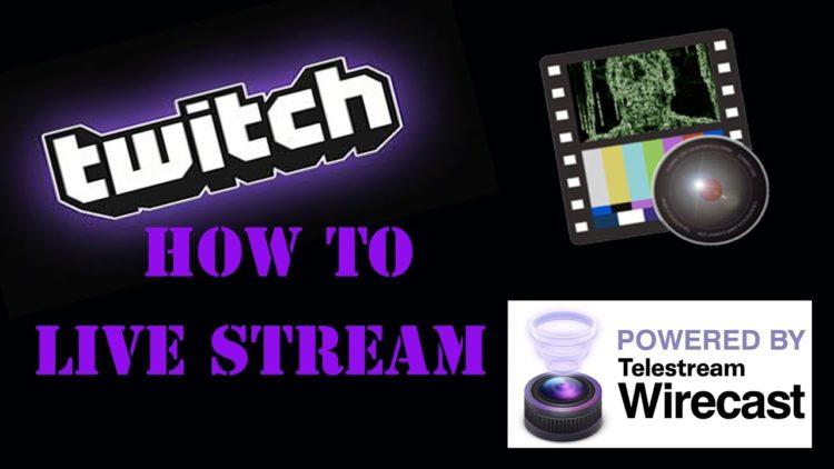 How to Live Stream On Mac ( WireCast ) Twitch tv – Twitch