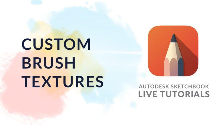 Twitch Live Tutorial: Custom Brush Shape in Autodesk SketchBook