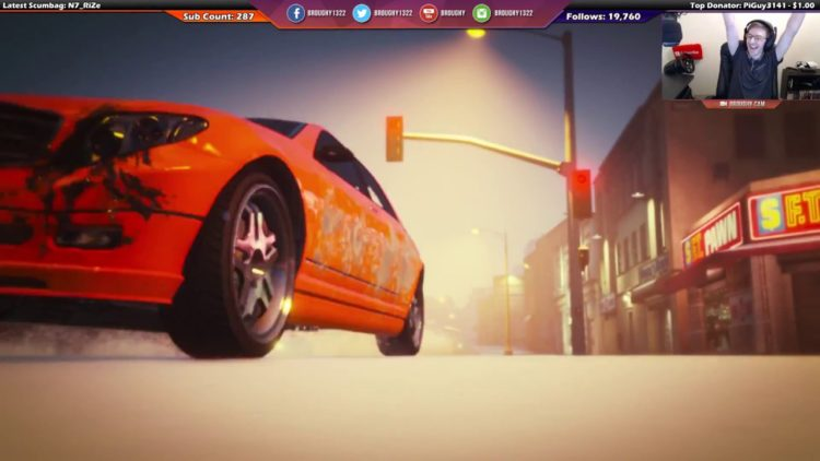 GTA Online Tutorial Race In Snow (GTA Online) [Twitch